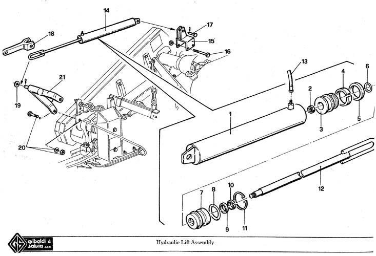 gribaldi sickle bar mower series 394 superior