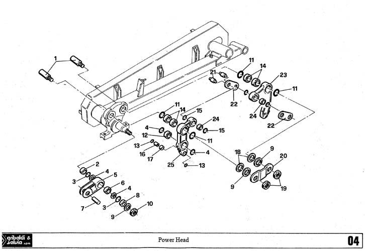 Gribaldi:Sickle Bar Mower:Series 394 Superior