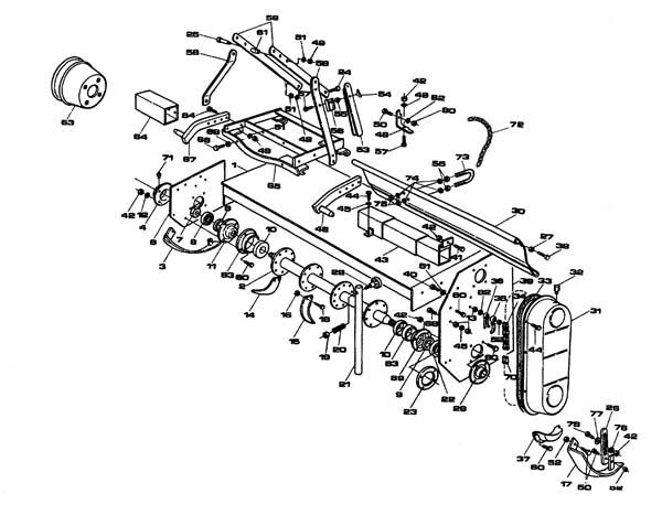 King Kutter Tiller Replacement Parts : Rotary tiller parts diagram imageresizertool
