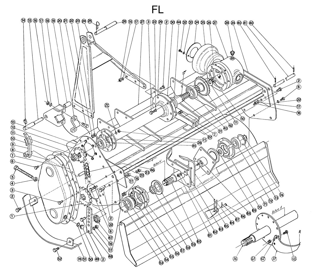 ditch witch 3700 parts diagram