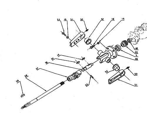 Galfre Gts Hinge Assembly