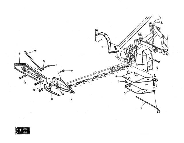 Superior 394 Hay Mower Parts