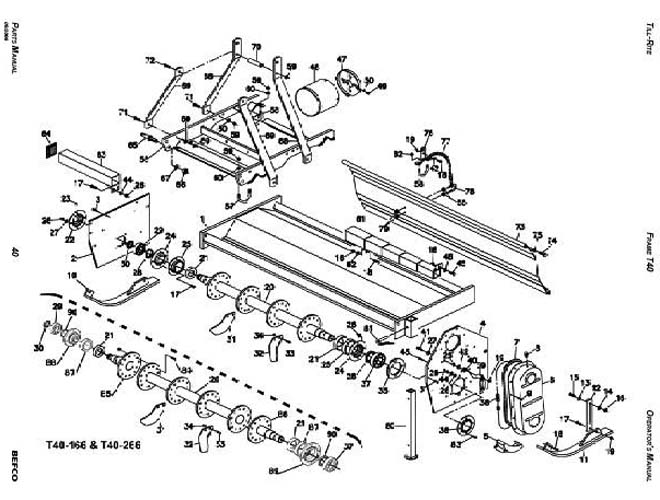 Replacement Bush Hog Tiller Parts : Howse bush hog parts diagram imageresizertool